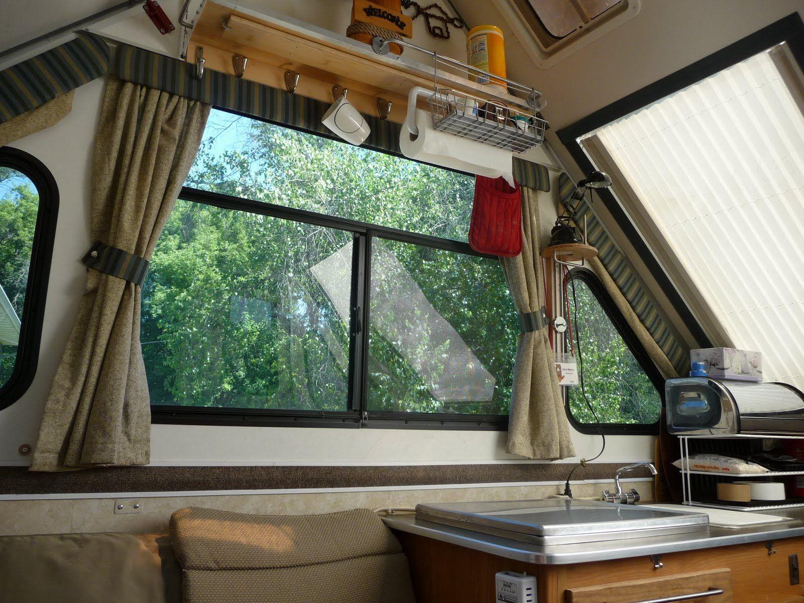P1010468 Jpg 1 600 1 200 Pixels Aliner Campers Camper Interior A Frame Camper