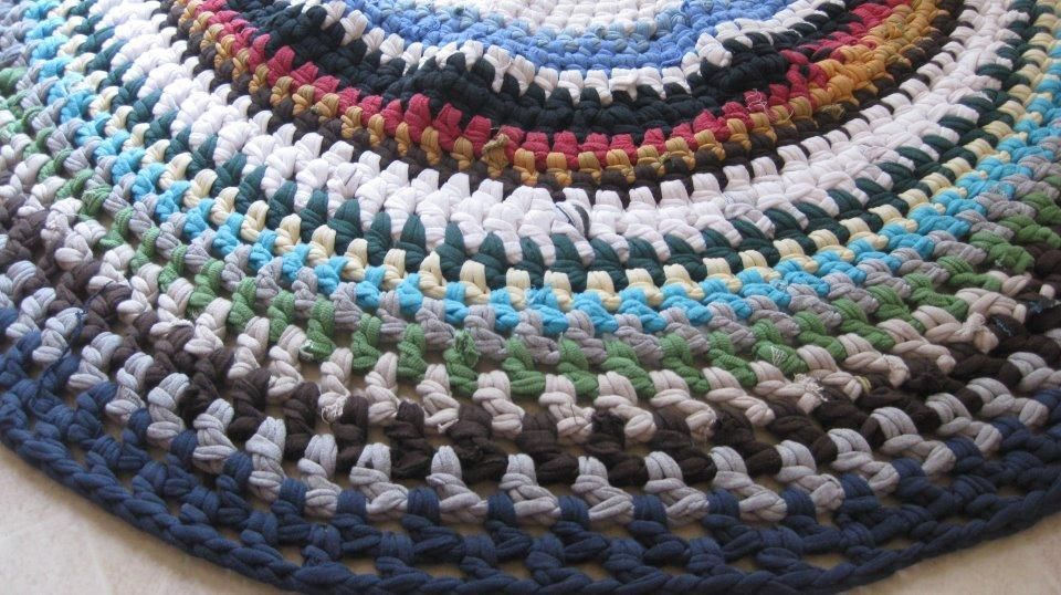 17 Best Images About Rag Rug On Pinterest Ravelry Patterns And. Crocheted .
