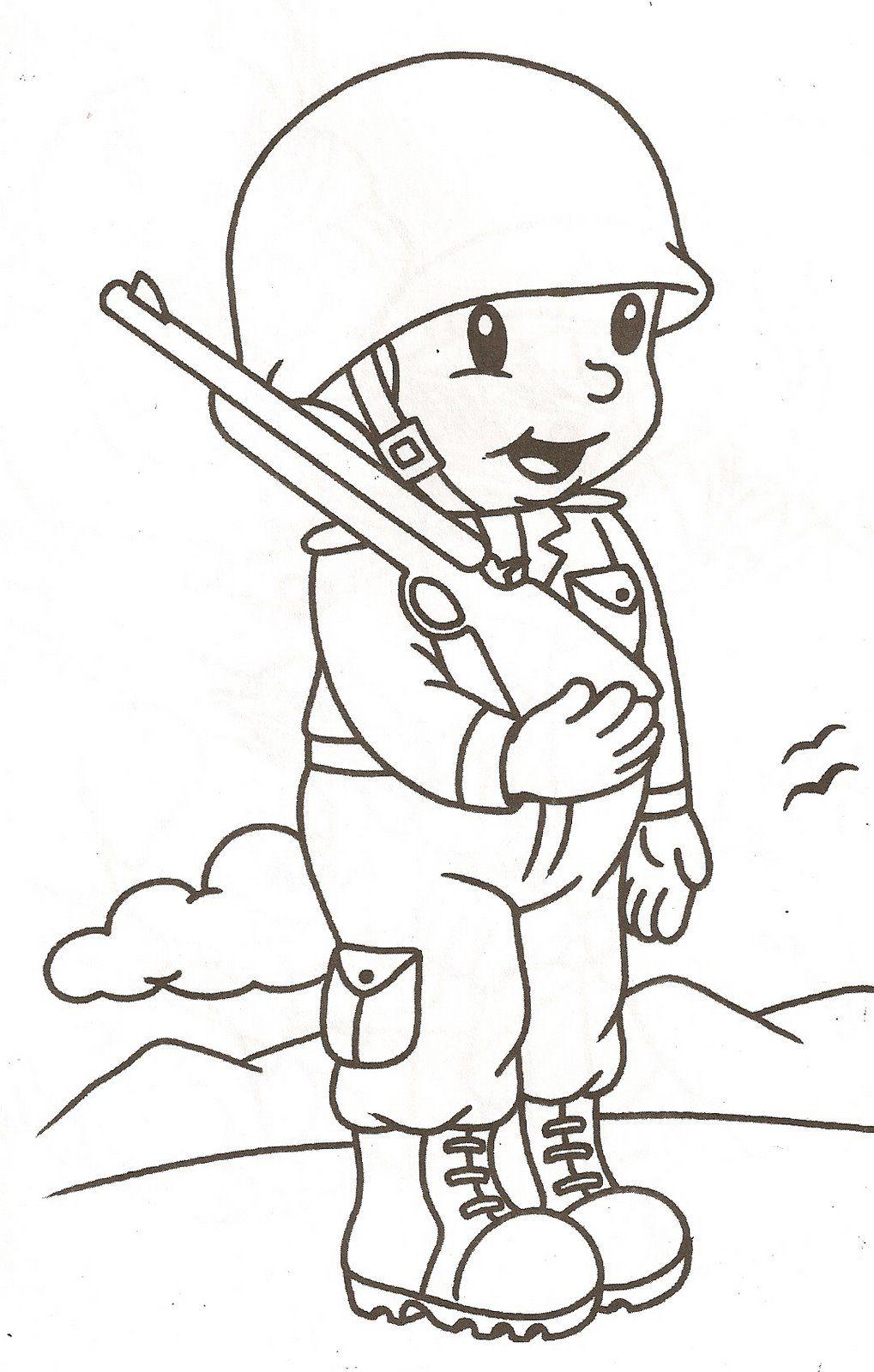 Soldado Jpg Dibujos De Profesiones Manualidades De La Biblia Para Ninos Soldados Dibujo