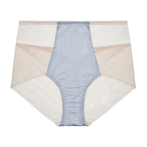Fortnight Lingerie Luna High Waist Bikini (€51) ❤ liked on Polyvore  featuring intimates 93f3d3202