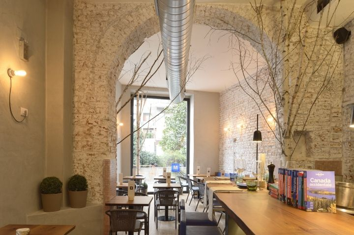 Madera milano restaurant caf by studio r19 milano for Unique design milano