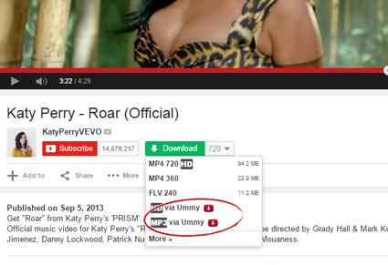 screenshot Youtube, Youtube videos, Music videos