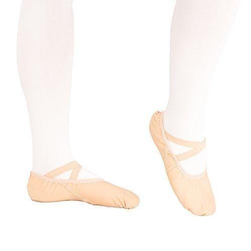 Zapatillas de Ballet para ni/ñas Media Punta Split Plana Zapatos de Ballet Diferentes tama/ños para ni/ños y Adultos