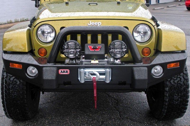 Arb 3450220 Bumper Deluxe Bar Ships Free Jeep Wrangler Jk 2007 2014 Jeep Wrangler Jk Jeep Front Bumpers Wrangler Jk