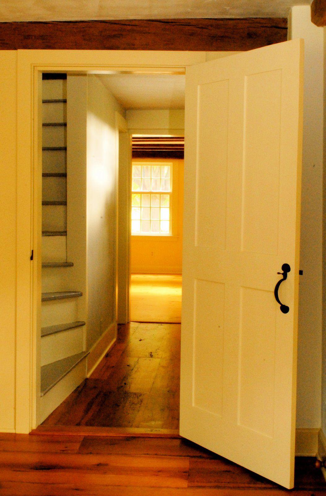 Historical Home: Historic Madison circa 1720 Saltbox Colonial #historichomes