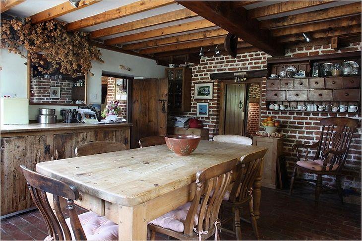 Estilo rustico casas de campo rusticas cocina mexicana - Cocinas rusticas de campo ...