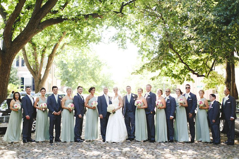 Sage And Navy Wedding Colors Sage Navy Wedding Bridesmaiddress Weddingparty Sage Wedding Colors Navy Wedding Colors Wedding Colors