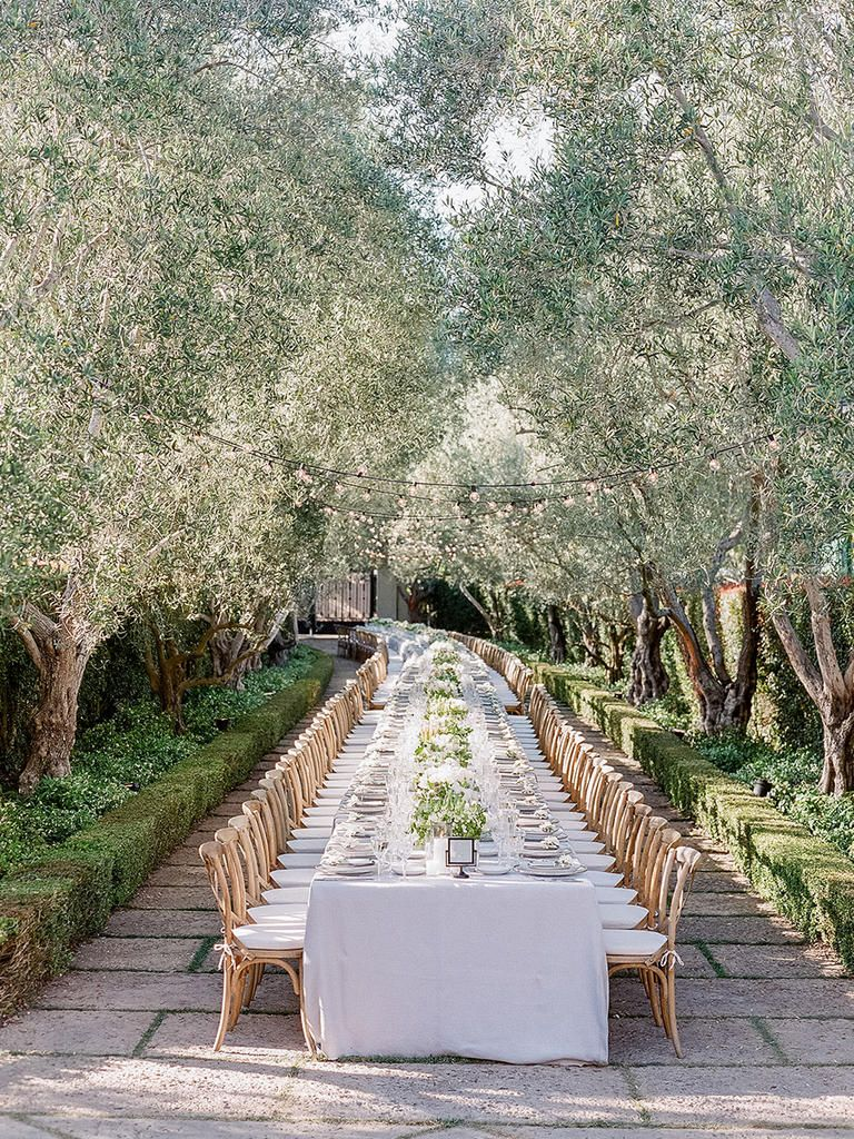 Garden wedding aisle decor   Tricks to a Flawless Outdoor Wedding  Parks department Weddings