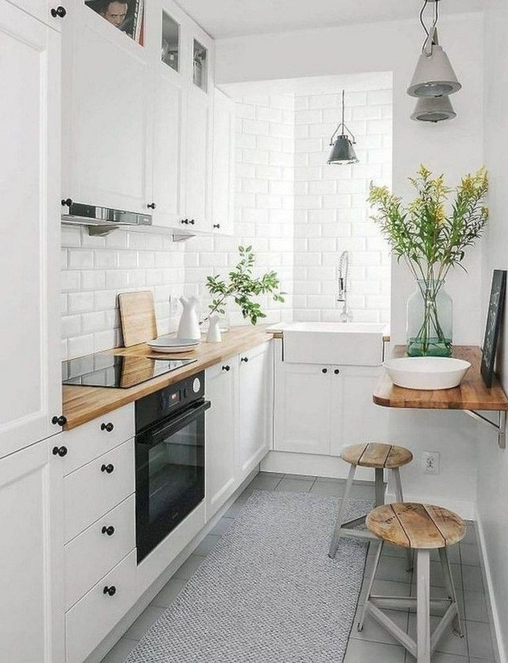 49 Creative Small Kitchen Design Ideas For Your Apartment With