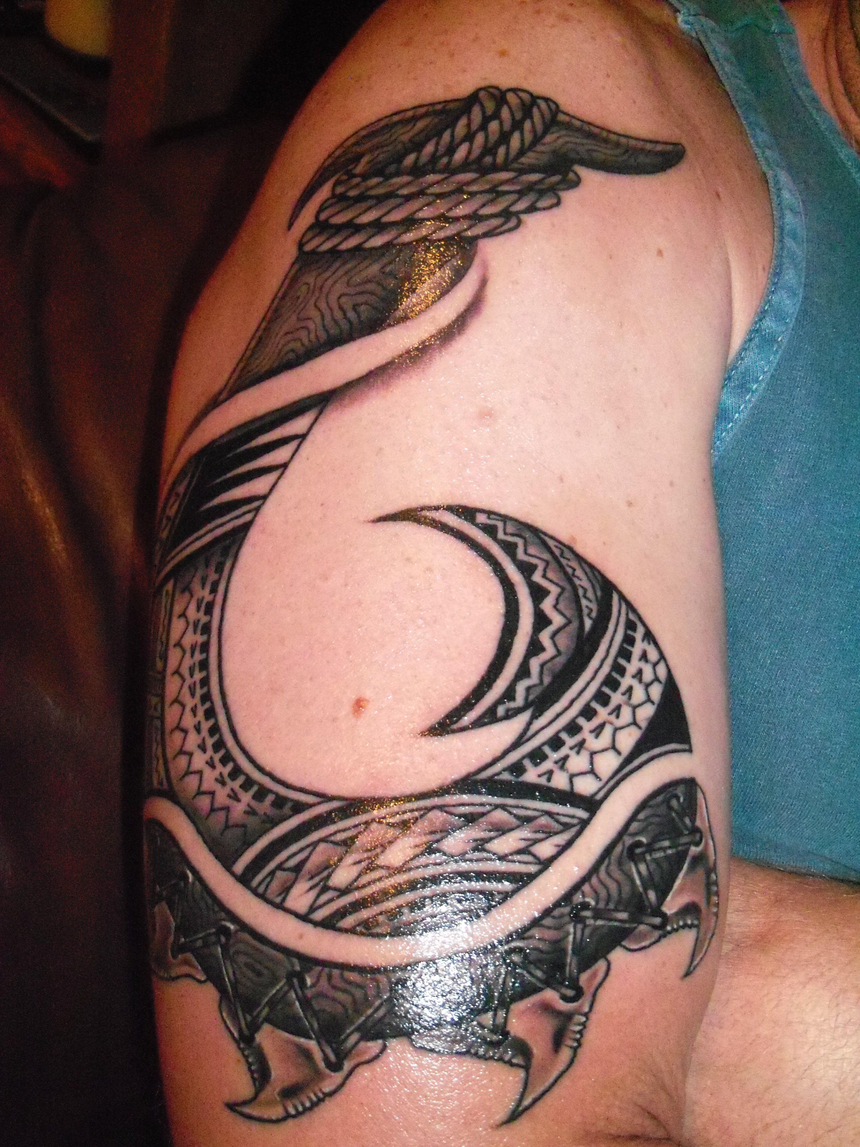 Hook tattoo designs - Fish Hook By Eugenius Sacred Tattoo