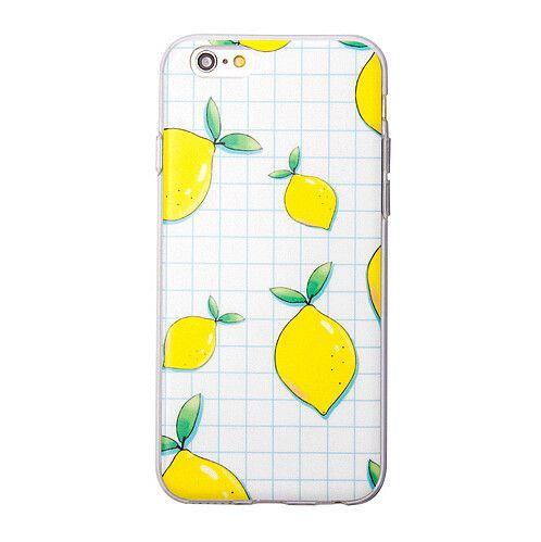 Plaid Lemon iphone case best protective cover