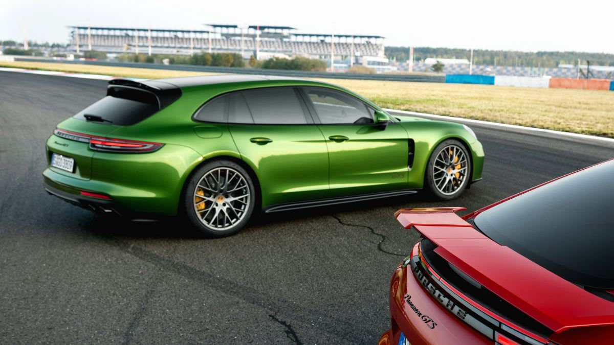 ESSAI Porsche Panamera GTS Sport Turismo Sport en famille