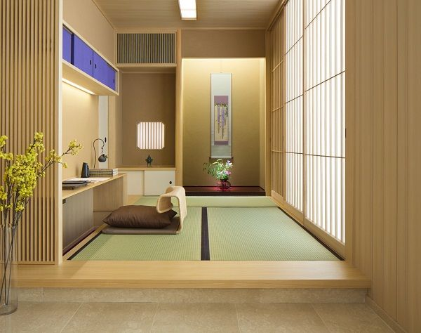 Japanese Interior Design Style Contemporary File Old House