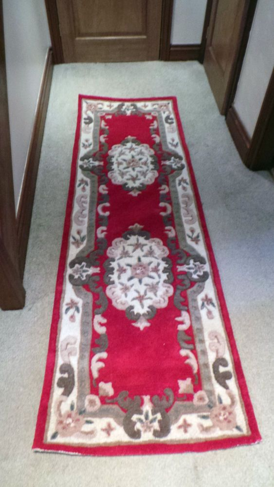 ORIGIN SHENSI DYNASTY TRADITIONAL WOOL RUG PINK VARIOUS SIZES OTHER COLOURS