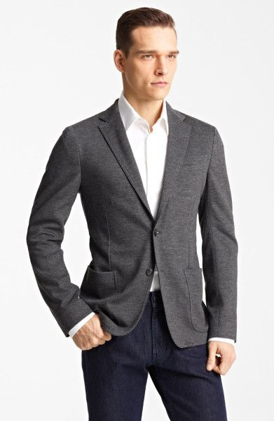 Dark Grey Sport Coat
