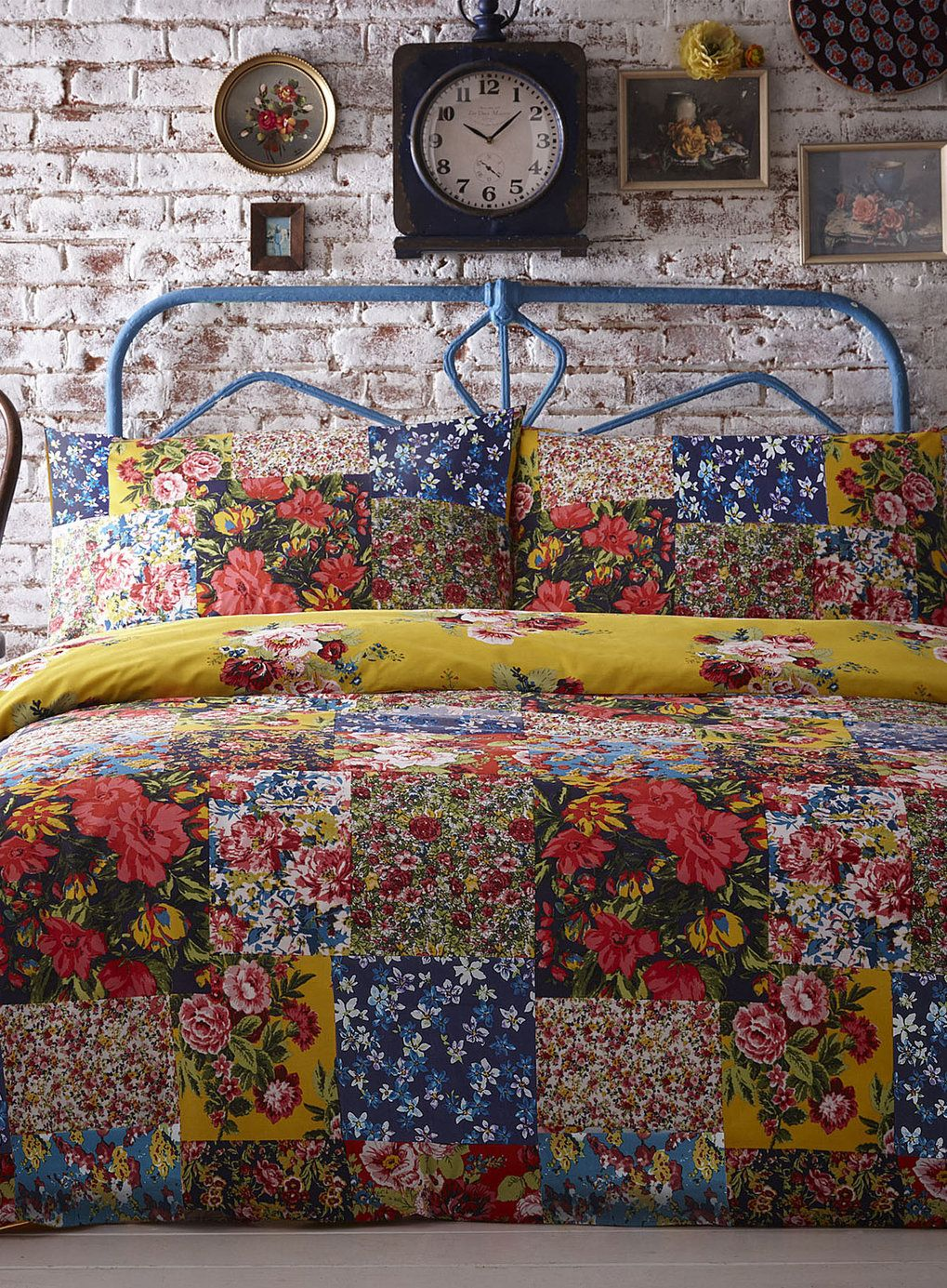 Multi Columbia Patch Bedding Set Bedding Sets Home Lighting Furniture Bhs Bohemian