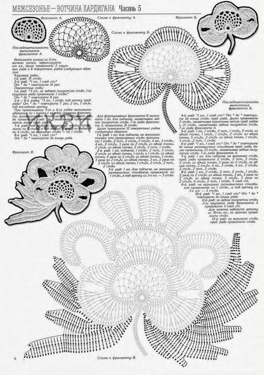 Erika Nunes: Croche irlandês | häkelvorlagen | Pinterest | Crochê ...