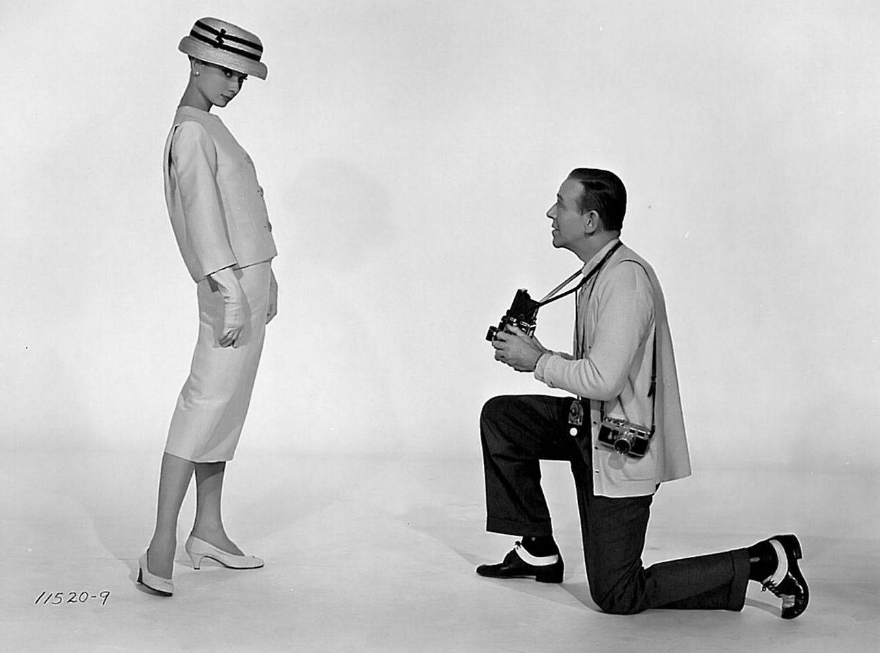 Audrey Hepburn et Fred Astaire par Richard Avedon