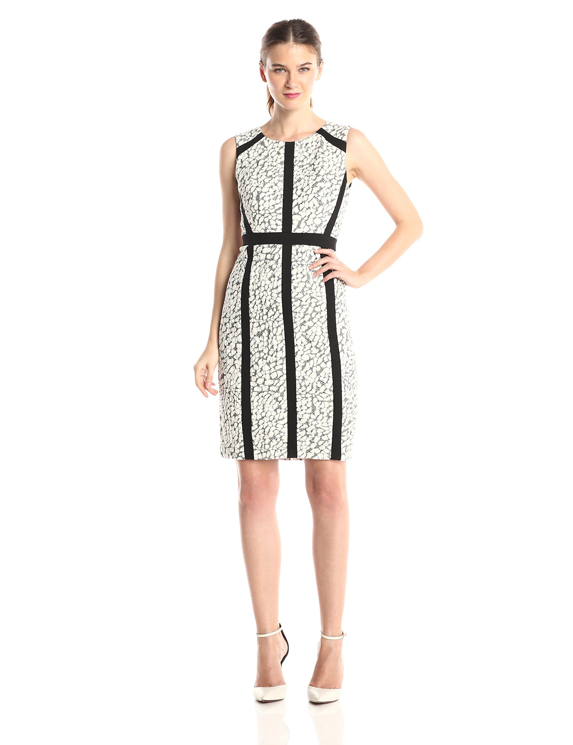 Nydj Womens Nora Animal Jacquard Dress Winter White 14 To View Further For This Item Visit The Image Link This Is Dresses Jacquard Dress Winter Dresses [ 2560 x 1969 Pixel ]