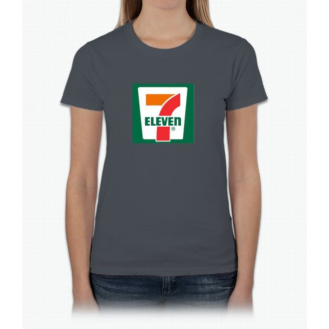 7-11 Logo, Simple. Womens T-Shirt