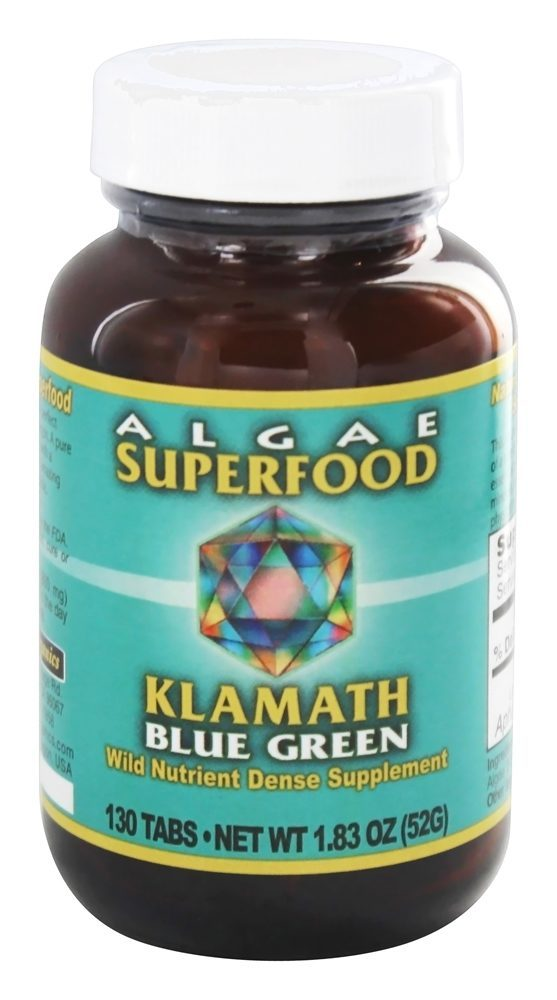 Klamath - Wild Nutrient Dense Algae Superfood - 130 Tablet(s) Klamath - Wild Nutrient Dense Algae Superfood - 130 Tablet(s)