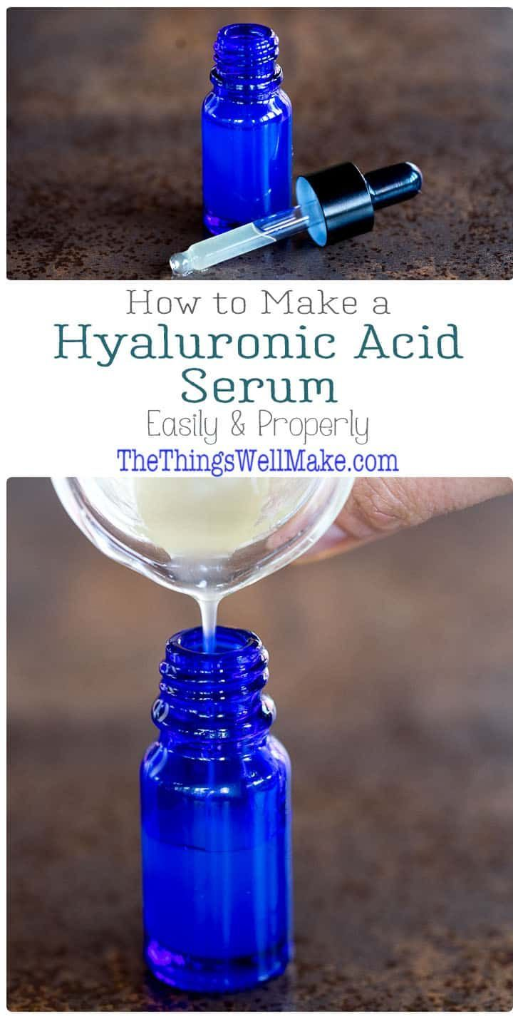 Hyaluronic Acid Serum Recipe