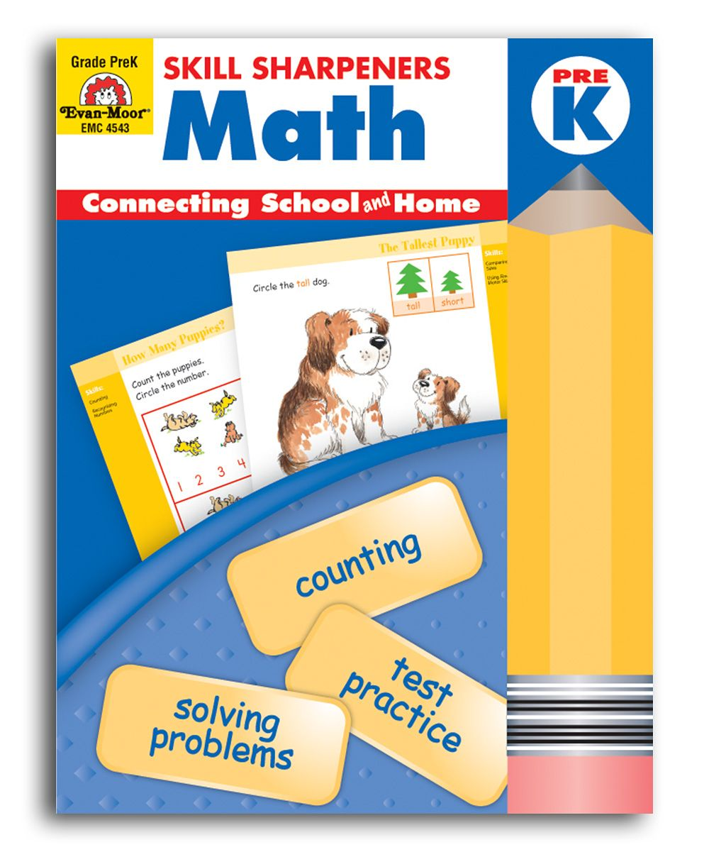 Workbooks pre k workbook : Pre-K Math Skill Sharpeners Workbook | Early Learning | Pinterest ...