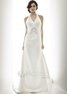 Halter Satin Wedding Dresses Washington Dc The Specialiststhe Specialists