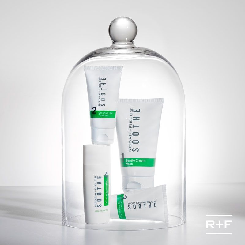 Soothe is a SAVIOR for anyone battling with sensitive skin, redness, irritation, rosacea, psoriasis, eczema or any sensitive skin issue. Total game changer. Helped me dry, eczema skin better than ANYTHING else! -jenniferpowers.myrandf.com