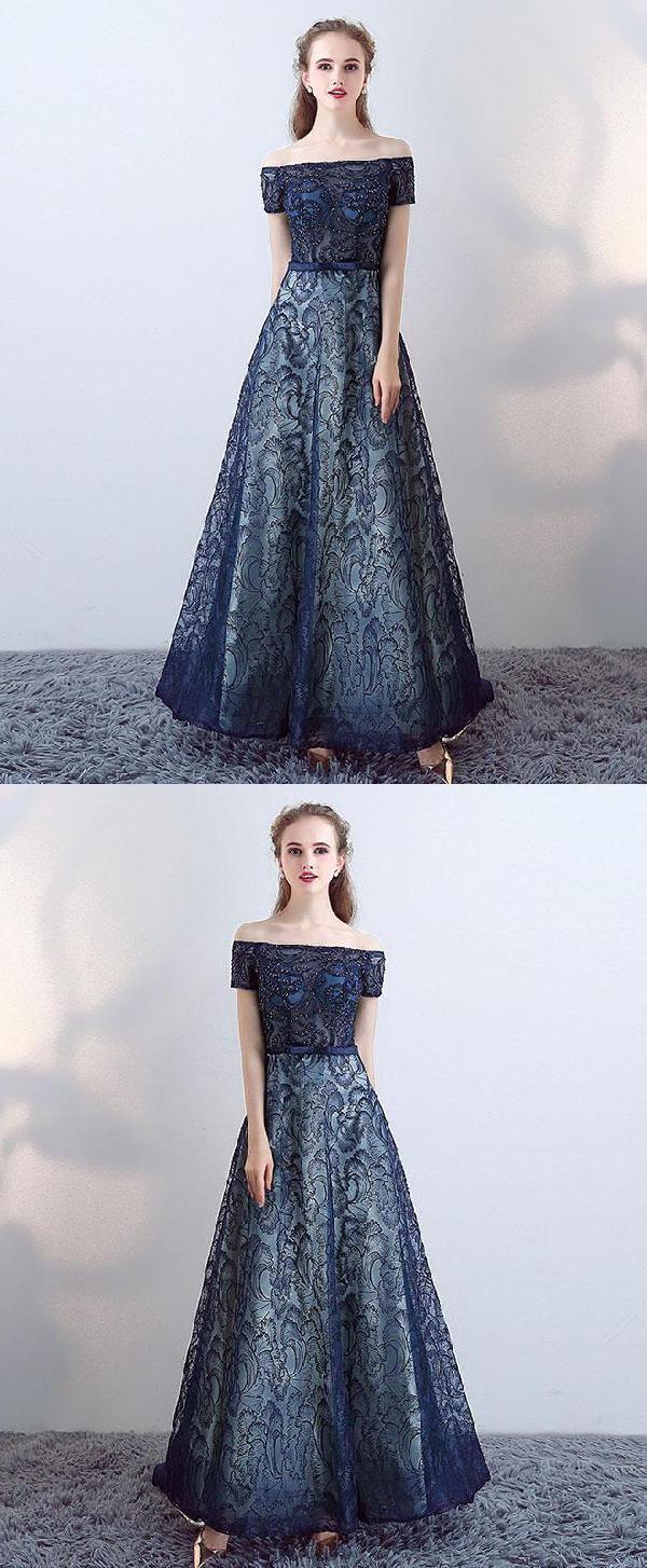 Nice prom dresses long prom dresses blue in prom dresses