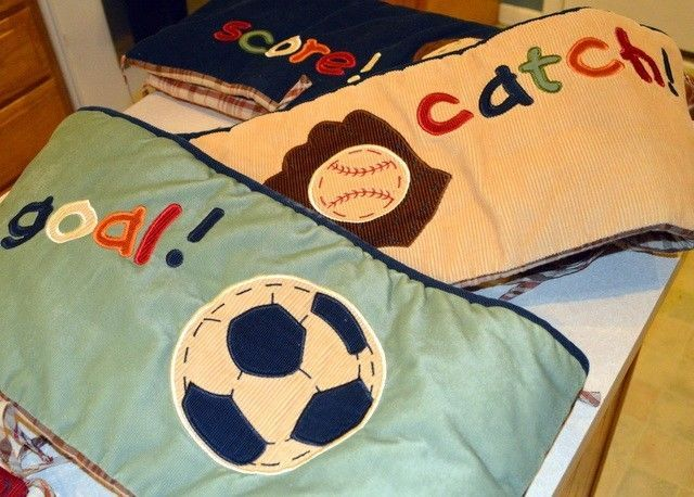 Details About 4 Pc Nojo My Little Mvp Sports Nursery Crib