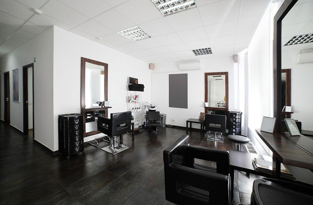 BOOK ONLINE   Trendy MakeOver   Salon interior design ...