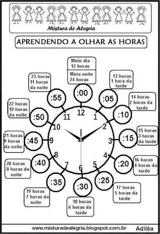 Resultado De Imagem Para Atividades Com Horas Atividades De Alfabetizacao Matematica Atividades De Matematica 3ano Matematica Basica Ensino Fundamental