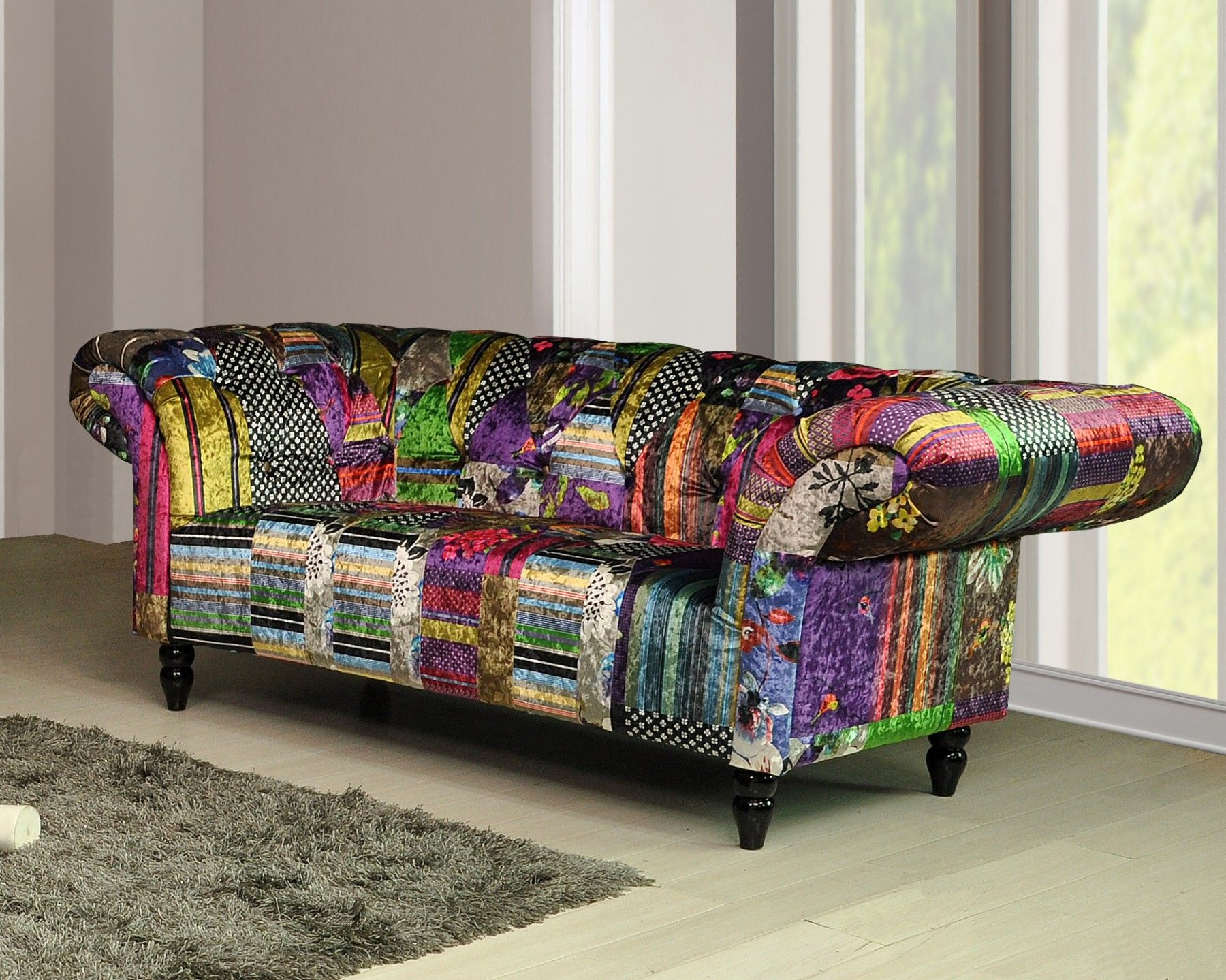 Anna Sofaf Suite Patchwork Sofa Sofa Suites Sofa