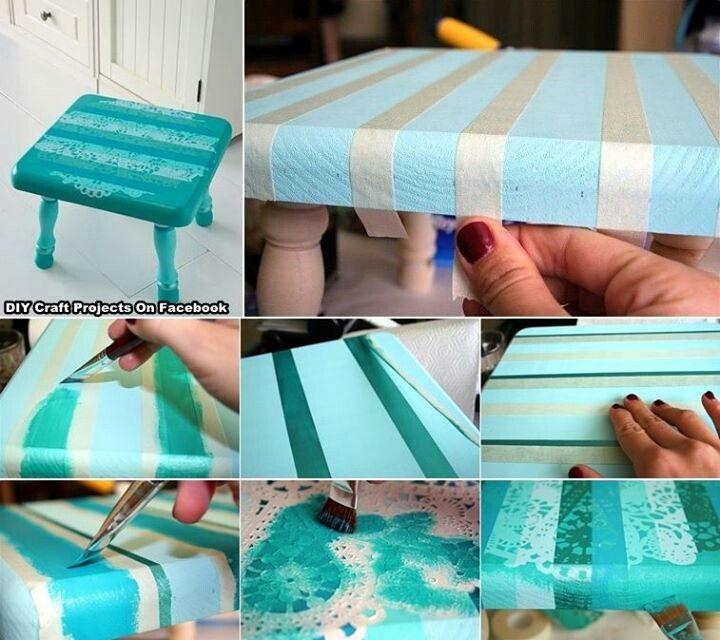 Manualidades para embellecer el mobiliario de tu #hogar cintas