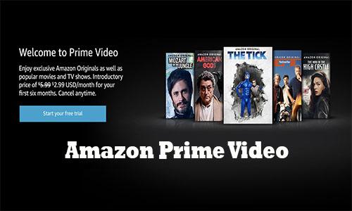 Amazon Prime Video How To Open Amazon Account Amazon Prime