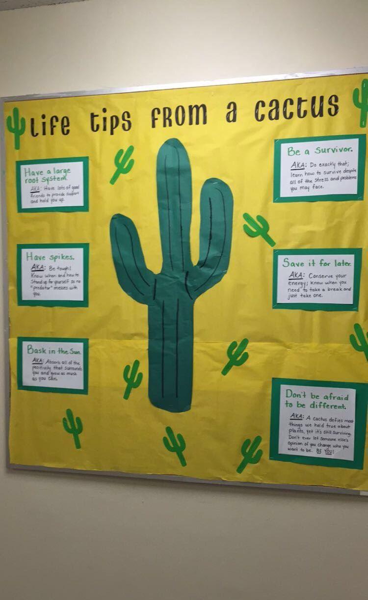 Ra Bulletin Board Encouraging Students Desert Theme Classroom Themes Ra Ideas Ra Bulletin