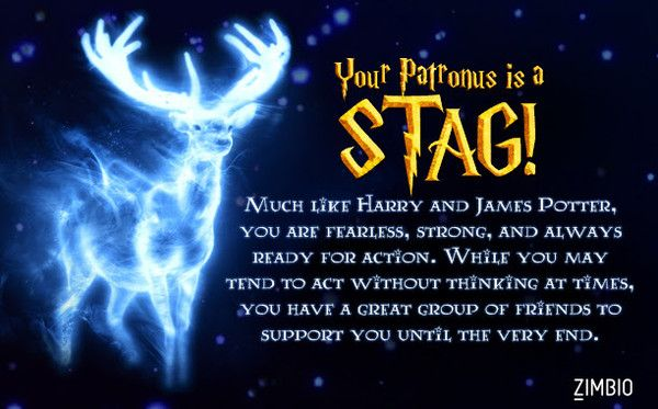 What's Your Patronus? (With images) | Harry potter quiz patronus ...