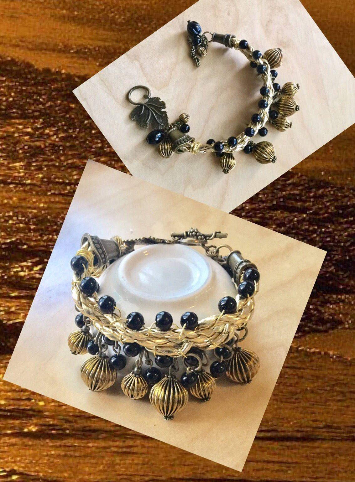 Trendy gold leather boho handwoven bracelet handmade gift for her trendy gold leather boho handwoven bracelet handmade gift for her birthday gift friendship gift girlfriend gift solutioingenieria Choice Image