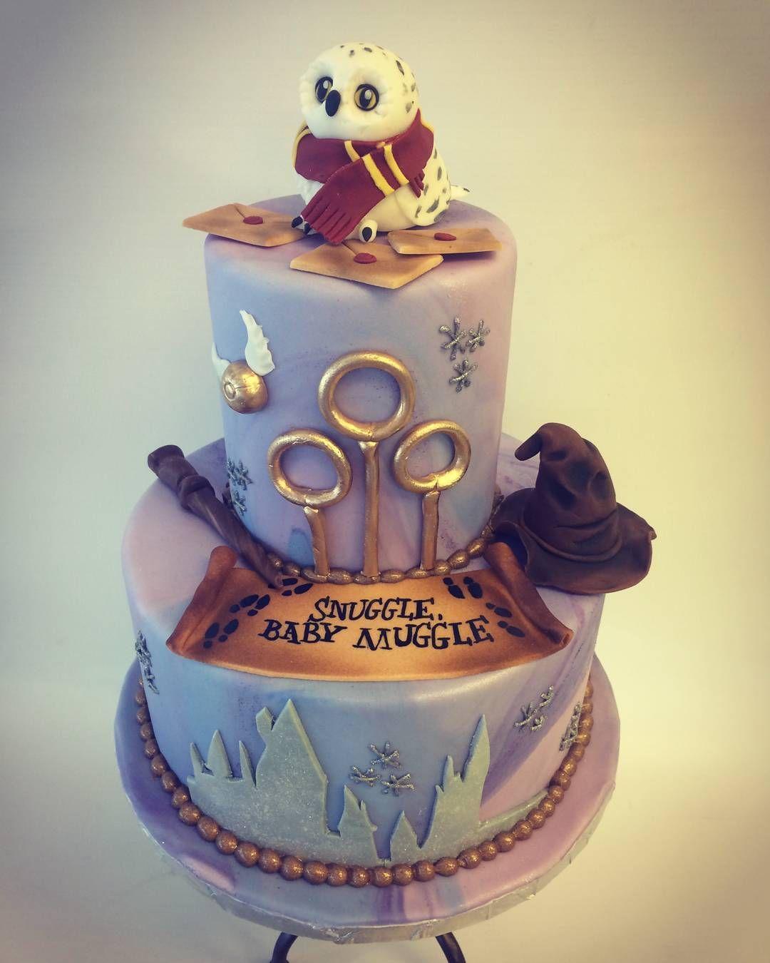 Harry Potter Baby Shower Cake Harry Potter Birthday Cake Harry
