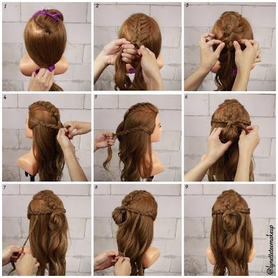 Lynette Tee Makeup Beauty Blog Makeup And Hair Tutorial Bohemian Hairstyle 14 Bohemian Hairstyles Picture Day Hair Hairstyle