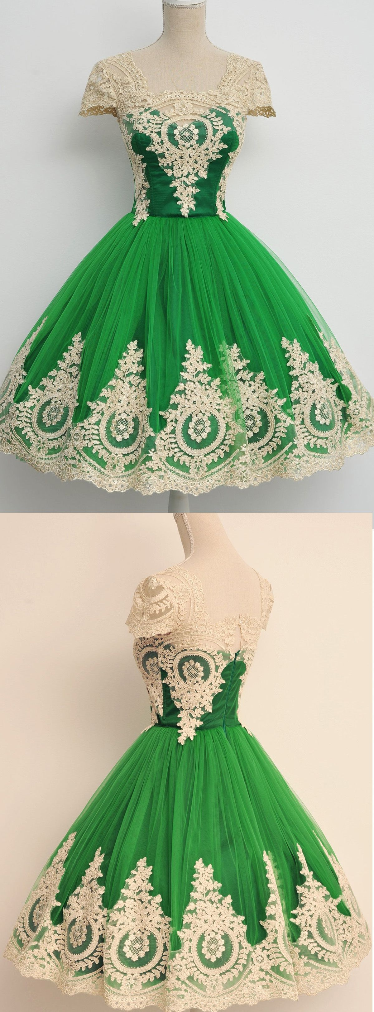 Gown homecoming dresses green ball gown homecoming dresses gown