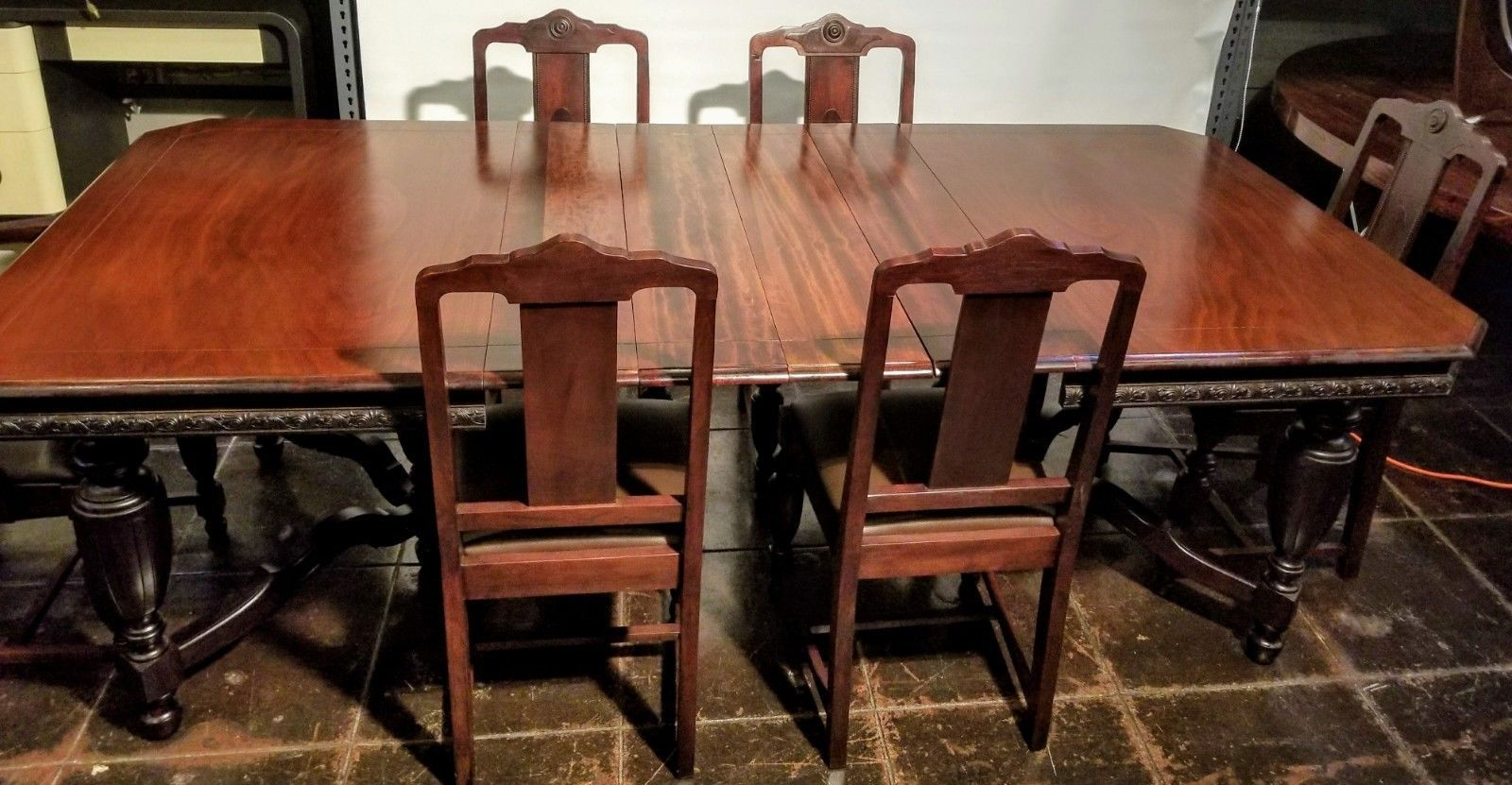 Super Details About 1920S Spanish Revival Dining Suite Table Gamerscity Chair Design For Home Gamerscityorg