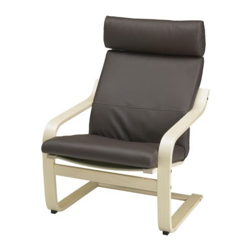 Poäng chair ikea the resilience of a layer glued bentwood frame of birch provides excellent comfort for relaxation