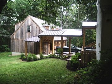 Covered Walkway To Barn Covered Walkway House Exterior Porch Design