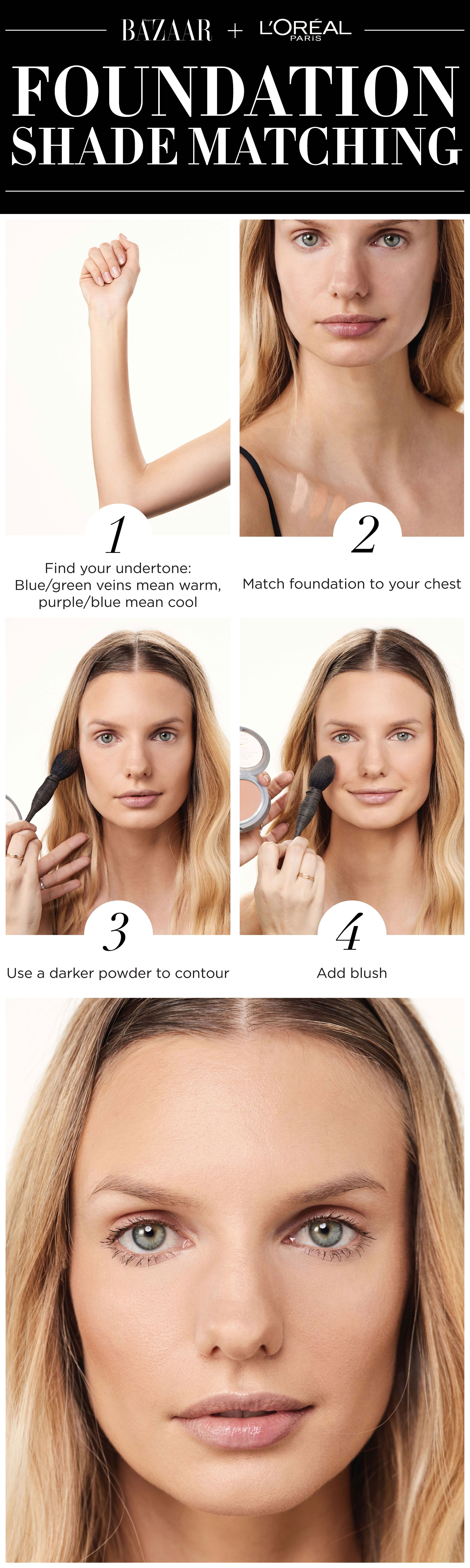 to wear - Your find perfect foundation shade video