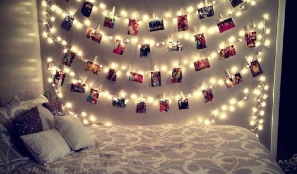 fairy lights tumblr - Google Search | Teenage girl bedroom ...