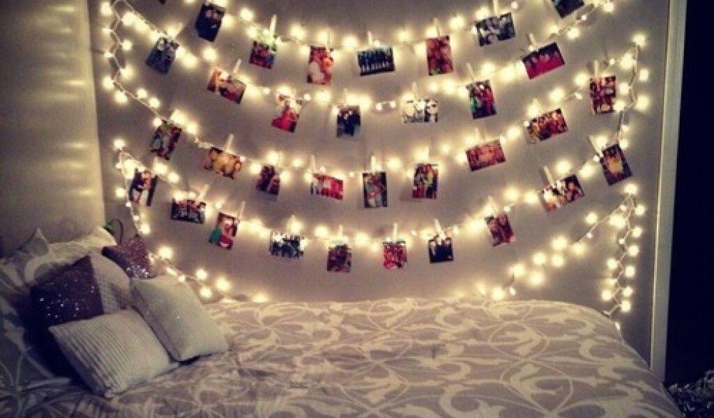 Fairy Lights Tumblr Google Search Teenage Girl Bedroom Decor