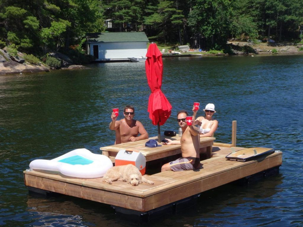 Image Result For Floating Picnic Table Boat Floating