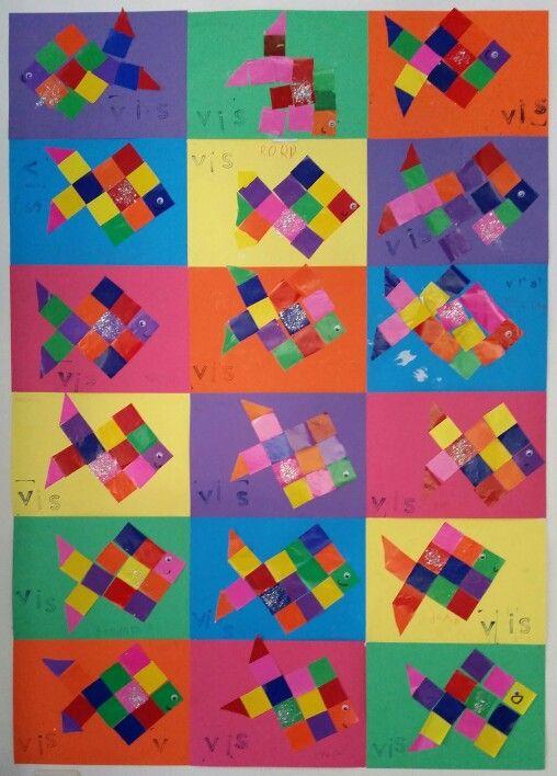 Fabulous Knutsel vis groep 3 | VLL Kim versie | Pinterest | Water, School  #JG21